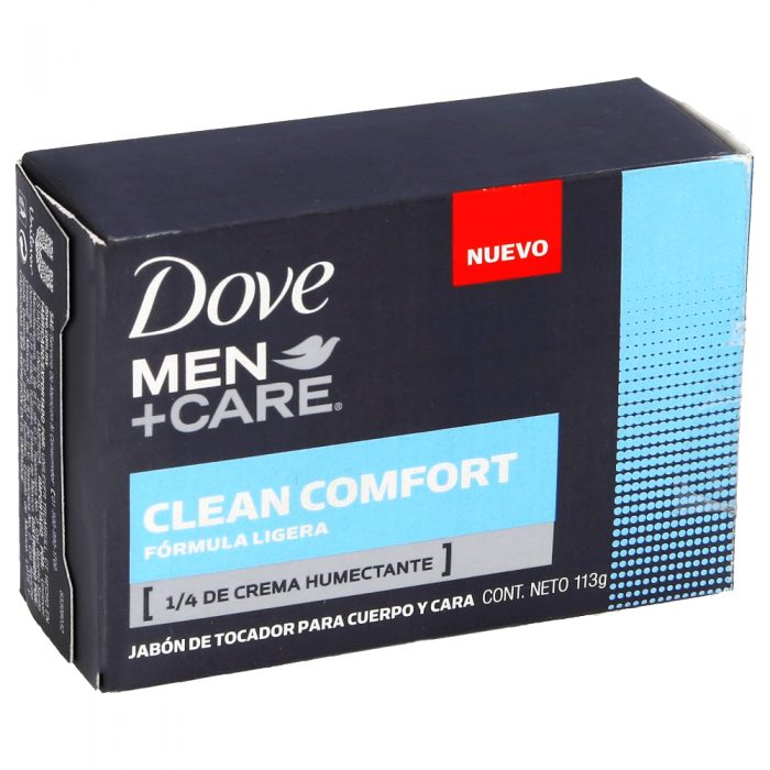 DOVE JABON MEN CLEAN COMFORT 113G