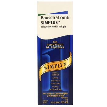 BAUSCH LOMB SIMPLUS SOL 105ML