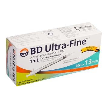 JERINGA BD INS UF 1ML 30X13 C 10