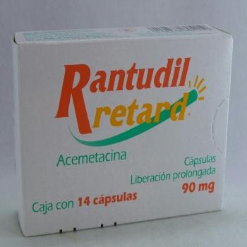 RANTUDIL RTD C 14 90MG (ACEMETACINA)