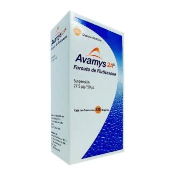 AVAMYS 2A SUSP 120D 27.5MCG