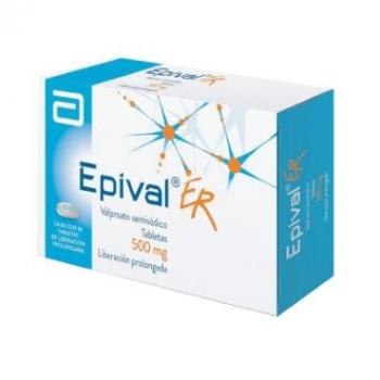 EPIVAL ER T 30 500MG