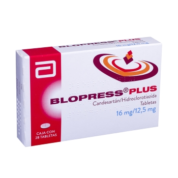 BLOPRESS PLUS T 28 16MG/12.5MG