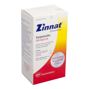 ZINNAT SUSP 50ML 250MG