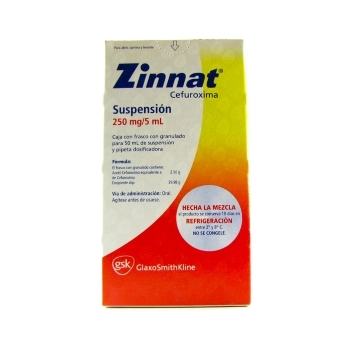 ZINNAT SUSP 50ML 125MG