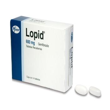 LOPID 600MG C 14 TAB
