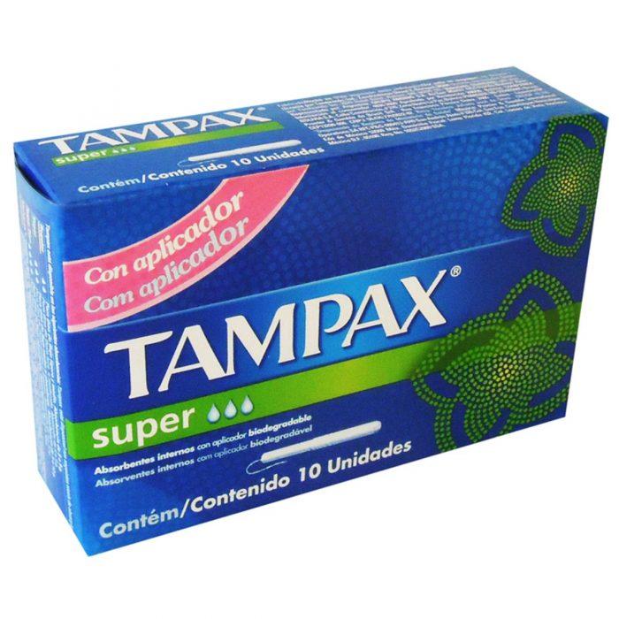 TAMPAX 10 SUPER NUEVO