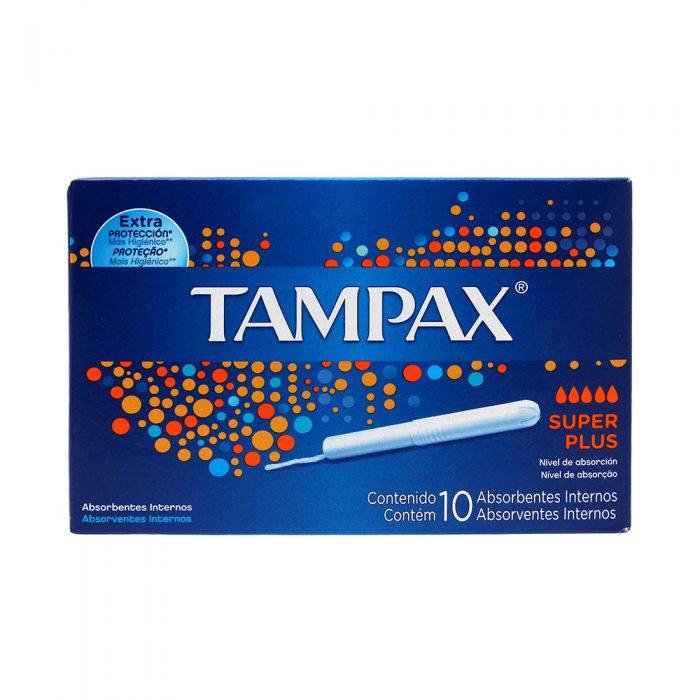 TAMPAX 10 SUPER PLUS NUEVO