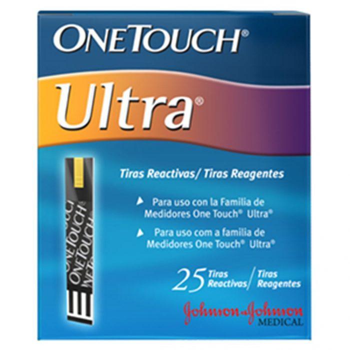 ONE TOUCH ULTRA TIRAS REACTIV C 25