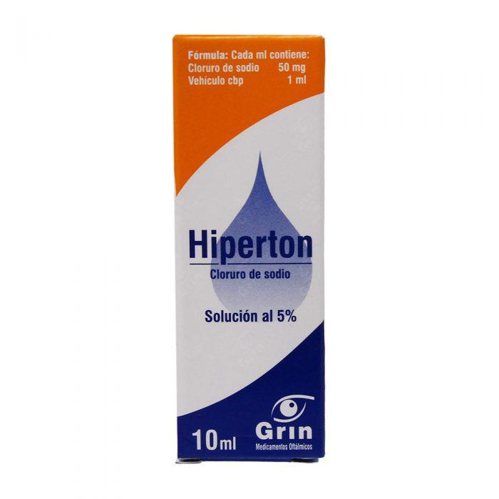 HIPERTON SOL 10ML 5%